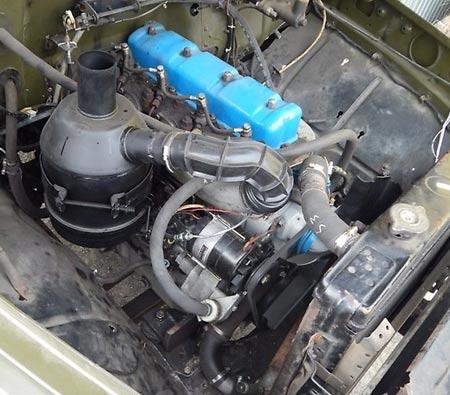 дизель  газ 3307