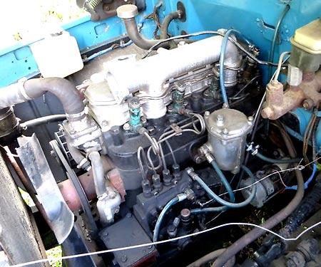 дизельный двигатель газ 3307