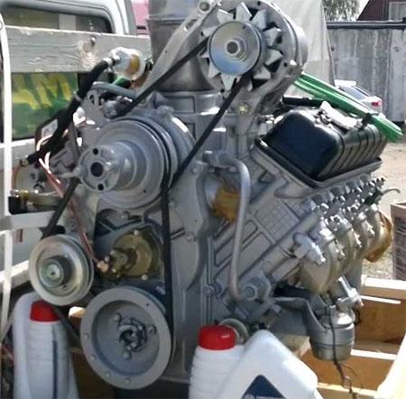 двигатель ЗМЗ 511.10