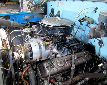 двигатель змз 53а