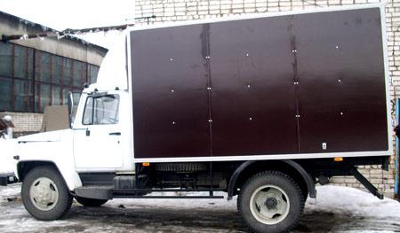 фургон газ 3307