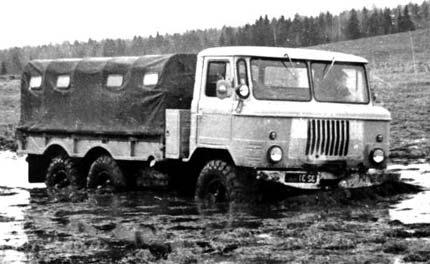 проходимость ГАЗ-66