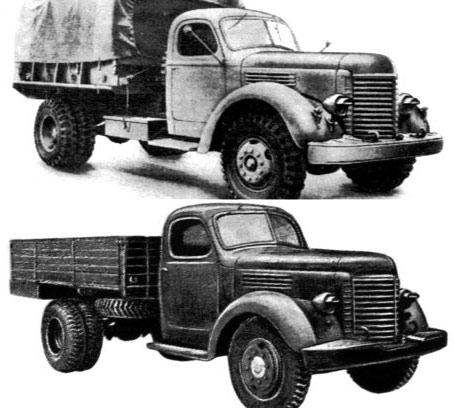 грузовик ГАЗ 51 Ю