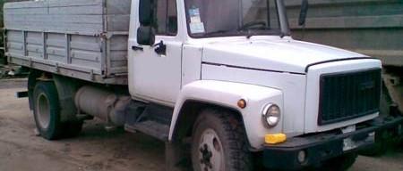 автомобиль газ 3307