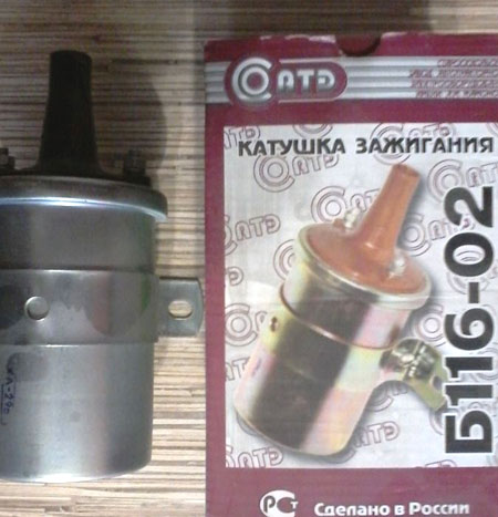 катушка зажигания газ 3307