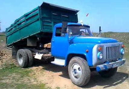 самосвал ГАЗ 53