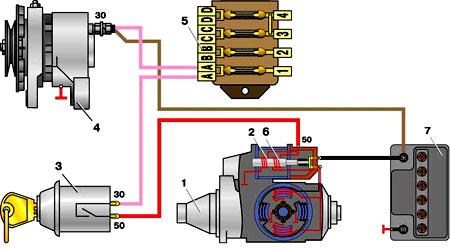 проводка на газ 53 старого образца - фото 4