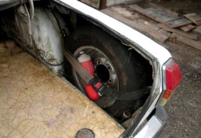 багажник  волги газ 24