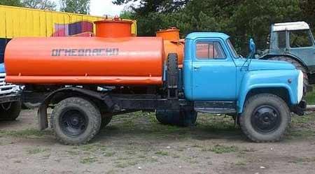 бензовоз ГАЗ 53