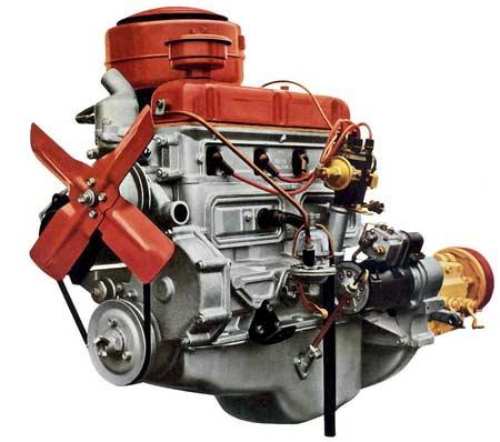 двигатель двадцать первой волги