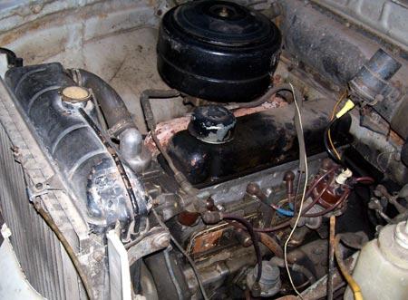 двигатель ЗМЗ-21