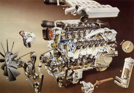 двигатель газ 20