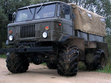 колеса газ 66