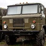 ГАЗ-66 с военной консервации