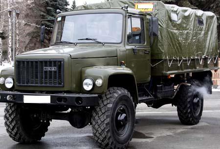 военный ГАЗ 3308