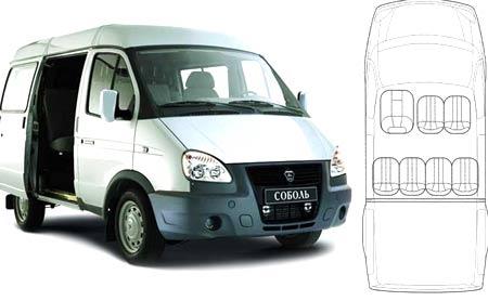 дизайн ГАЗ 2752