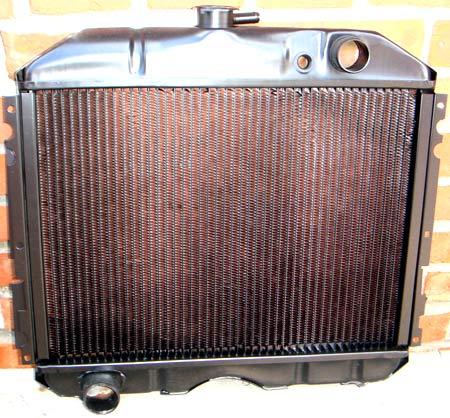 медный радиатор охлаждения
