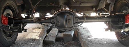 задняя подвеска 31105