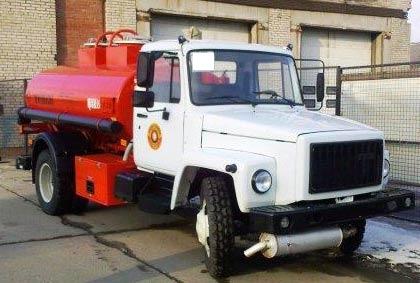 топливозаправщик  АТЗ 36135-011