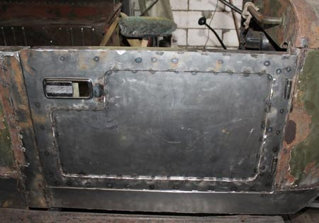 ремонт двери газ 69