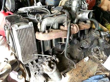 двигатель ГАЗ 542