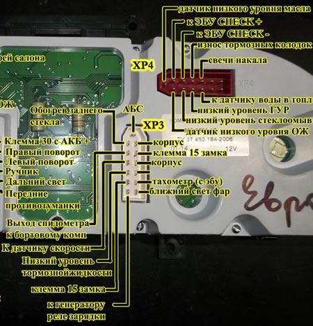 контакты xp4
