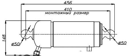 схема гидроцилиндра кузова