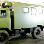 Автомобили ГАЗ-66 с кунгом