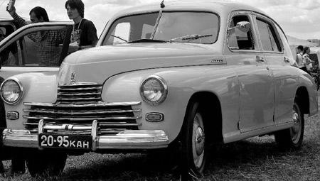 газ м20  1949
