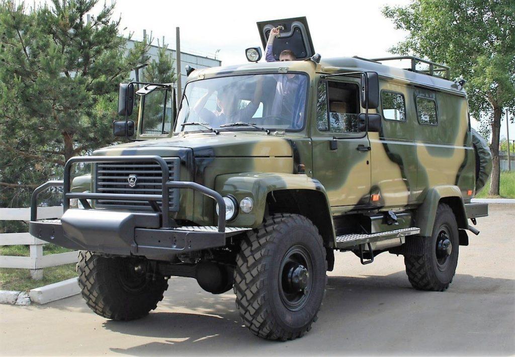 Вездеход на базе ГАЗ-66