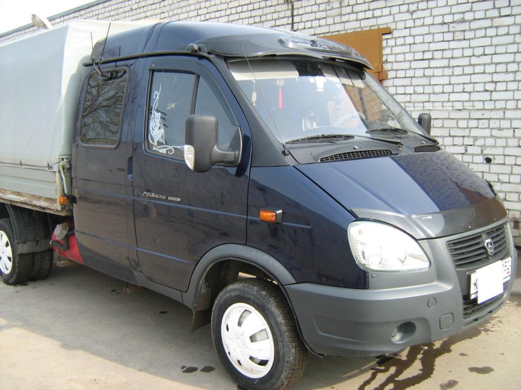ГАЗ-3302 на шесть мест