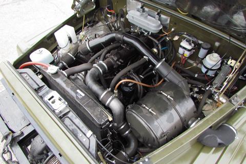 двигатель автомобиля ГАЗ-30811 «Вепрь»