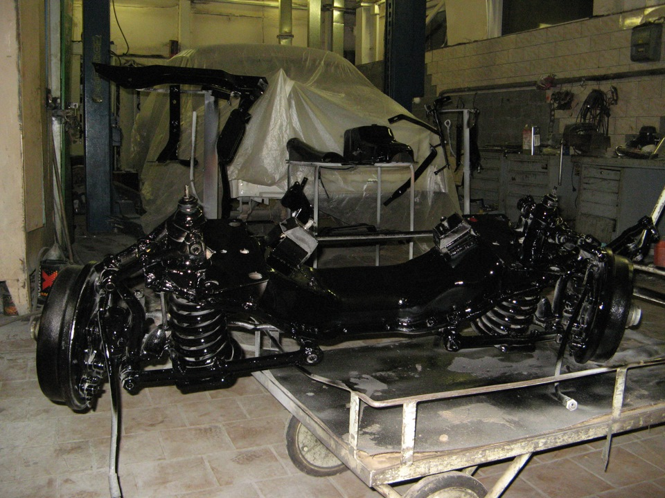 передняя подвеска ГАЗ 21