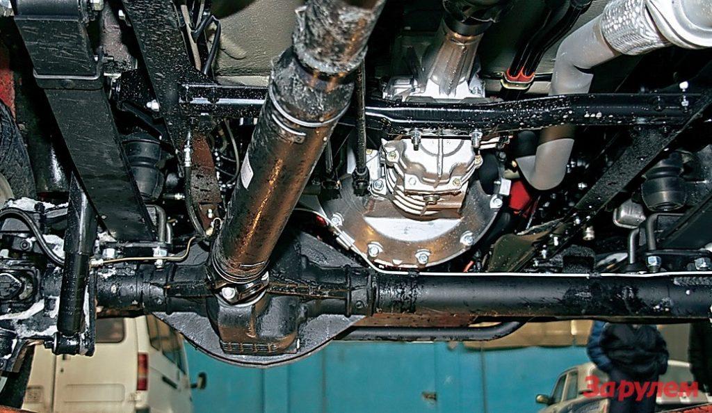 подвеска ГАЗ 27057