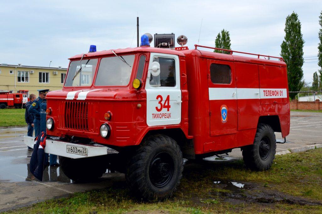 АСО-5 на шасси ГАЗ-66