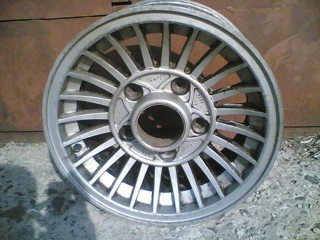 Легкосплавный диск на ГАЗ 2410