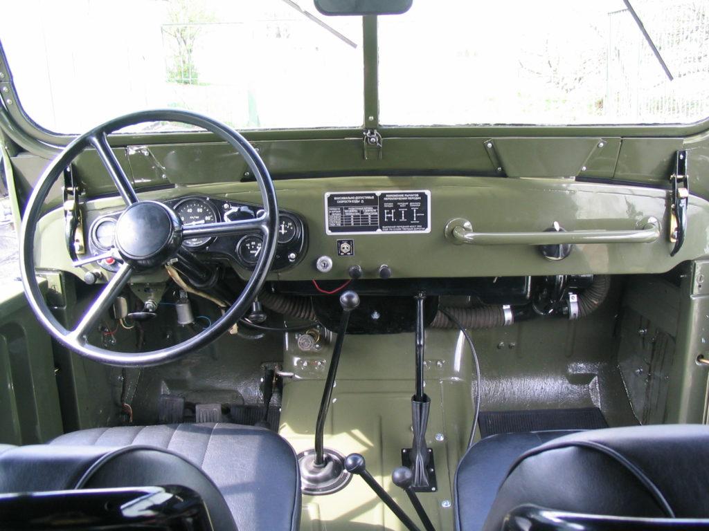 салон ГАЗ-69