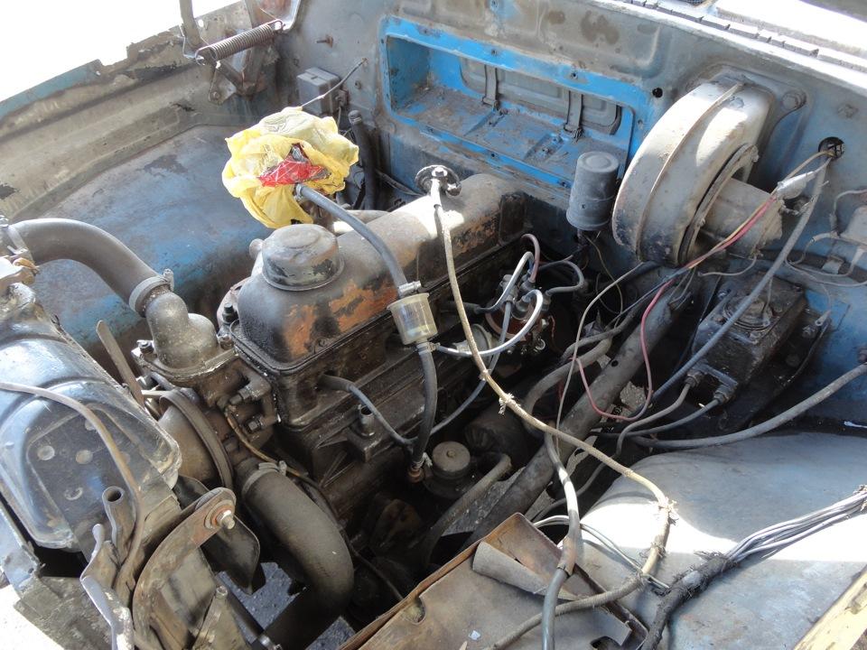 двигатель ГАЗ-22