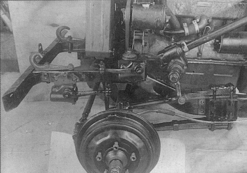 подвеска ГАЗ 61
