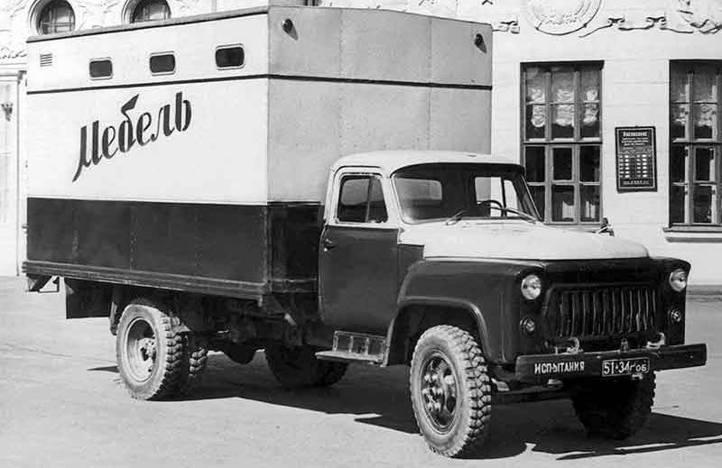 мебельный фургон