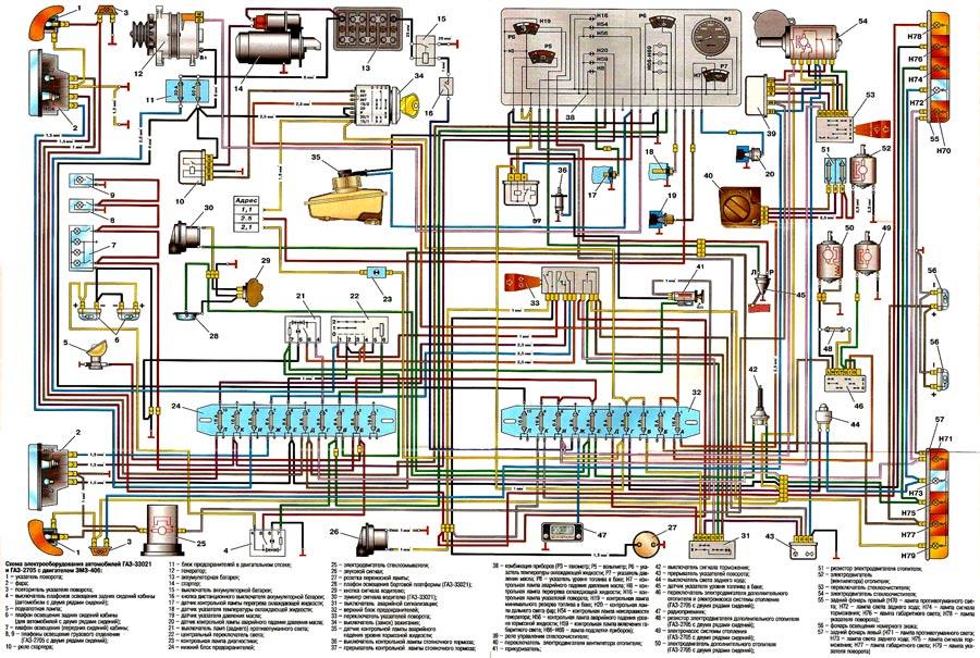 электрическая сеть газели
