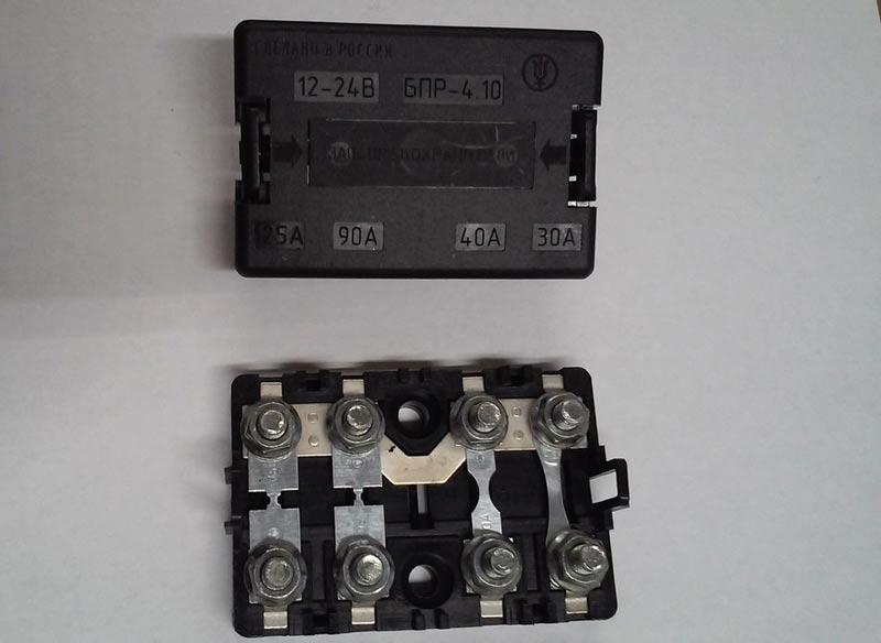 блок   БПР 2 с защитой   90А