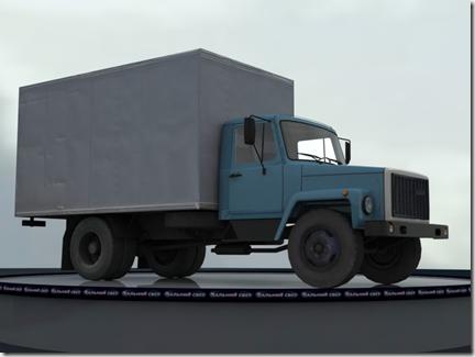 грузовой автомобиль ГАЗ-3307