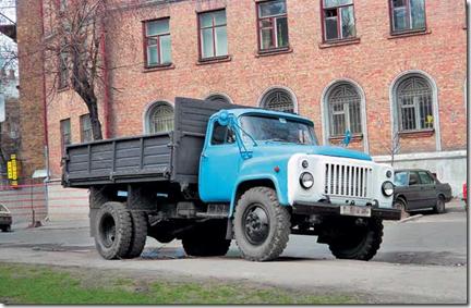 грузовой автомобиль ГАЗ-53