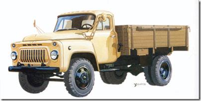 грузовой автомобиль ГАЗ-53 бортовой