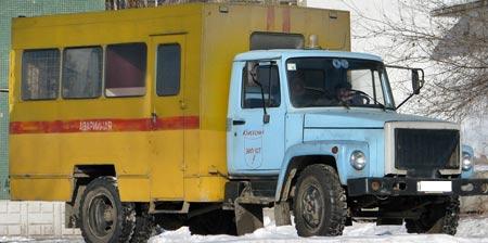 авариная газ 3307