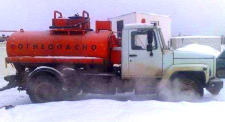 цистерна газ 3307