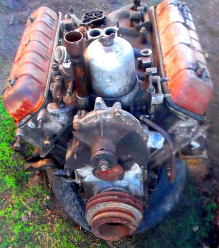 двигатель самосвала газ 53