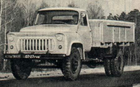 ГАЗ 53Ф