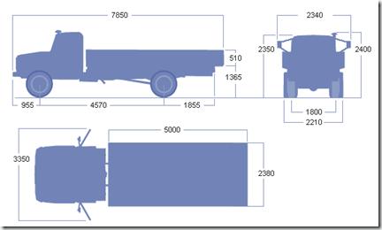 Заправочные емкости газ 3307